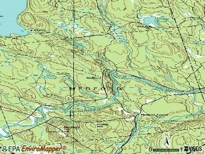 Medford Maine Me 04463 Profile Population Maps Real