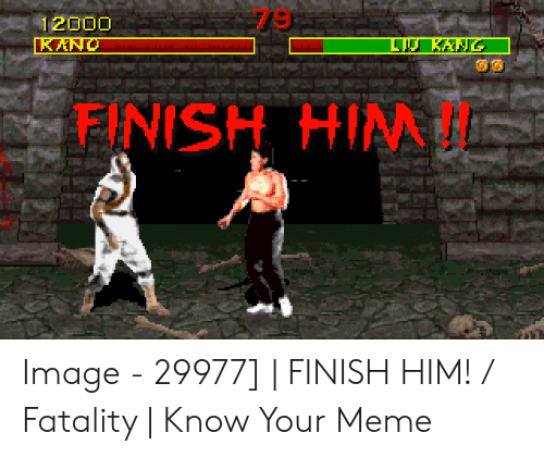 Your Friend Got Heart Attack During Mortal Kombat Finish Him