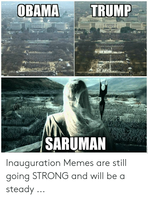 Saruman Inauguration Memes Are Still Going Strong And Will Be A