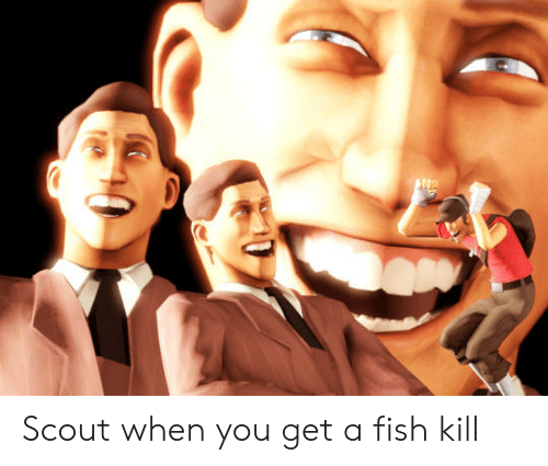 Scout When You Get A Fish Kill Fish Meme On Conservative Memes