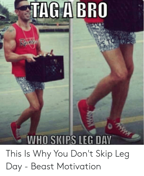 tag a bro who skips leg day this is why 53558230
