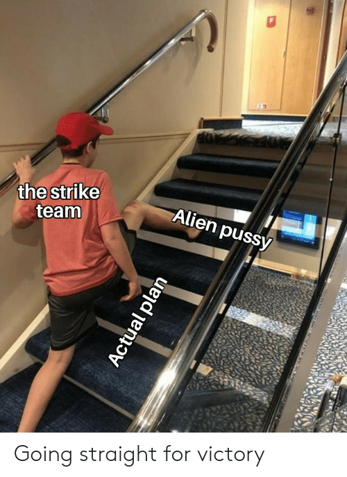 The Strike Team Alien Pussy Actual Plan Going Straight For Victory