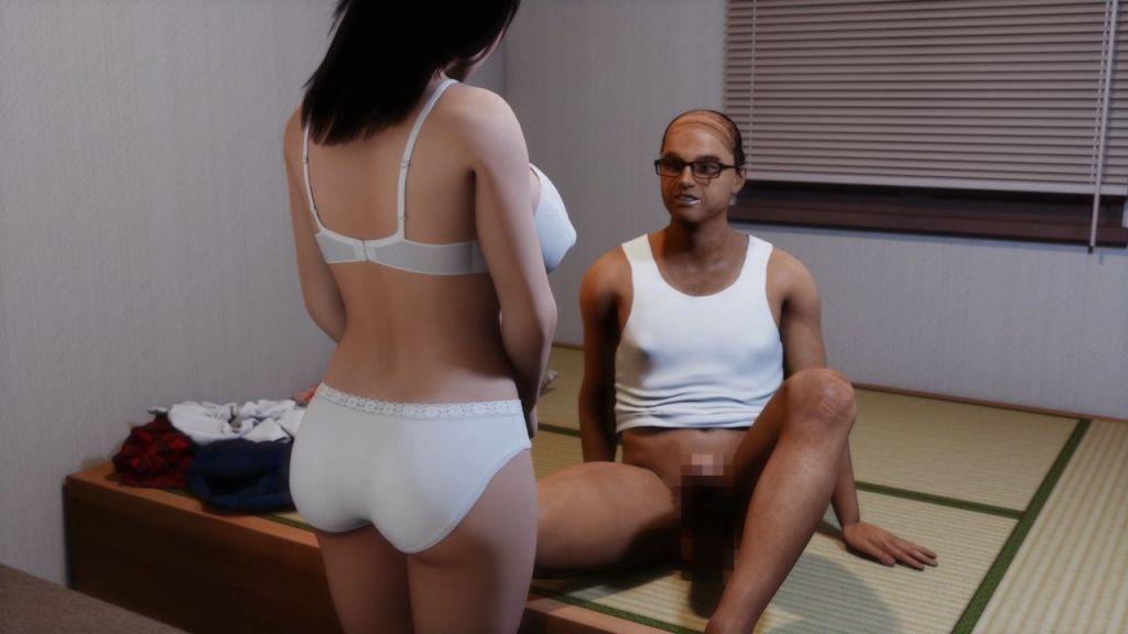 キモヲタ教師が、可愛い女生徒に 性活指導!! サンプル画像 (2)