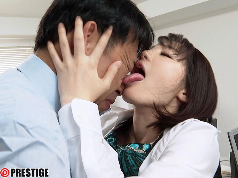鈴村あいり 接吻狂い ぐちょぐちょ唾液まみれ3本番 ACT.04 オマ●コよりも感じる敏感で卑猥なくちびるサンプルイメージ2枚目