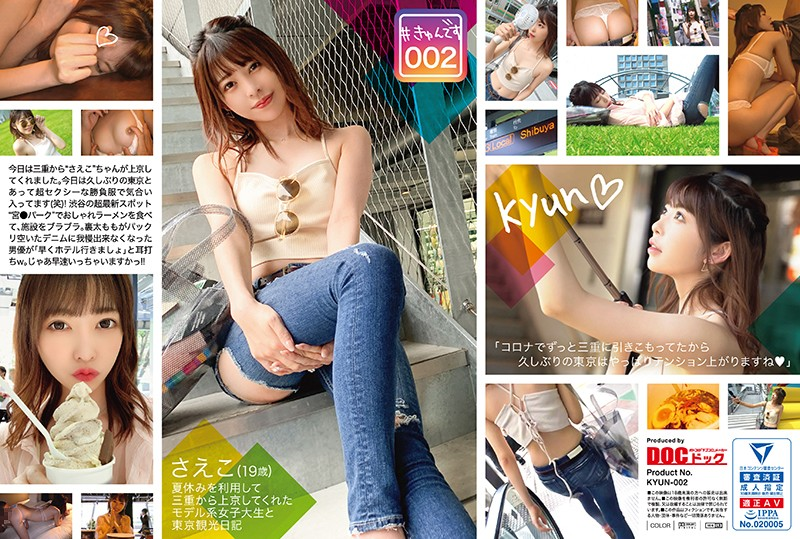KYUN-002 (For Streaming Editions) # Heart Pounding Thrills 002/Saeko/19 Years Old/College S*****t