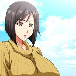 OVA 巨乳大家族催眠 #1 巨乳ぞろいの隣人妻 サンプル画像 (2)