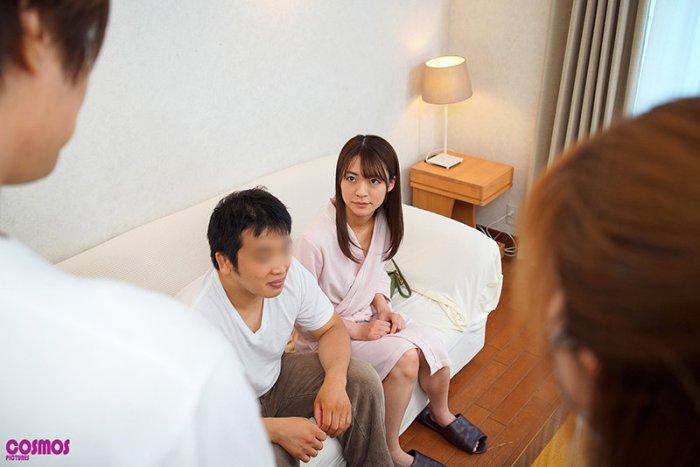 寝取らせ検証『夫婦のセックスを記念に残すはずが代役との疑似SEXに…… のサンプル画像 3枚目