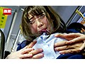 満員バスで背後から制服越しにねっとり乳揉み痴漢され腰をクネらせ感じまくる巨乳女子○生6のサンプル画像