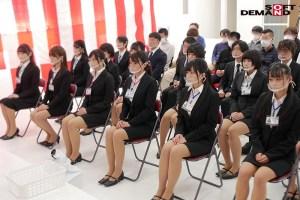 SOD女子社員全裸入社式新入社員12名全員の初撮りSEXも収録!コロナ… のサンプル画像 4枚目
