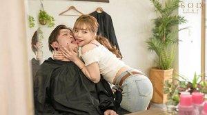 人気エロカワ美容師ゆなさんは実はとんでもなくキス魔お客様をべろちゅう… のサンプル画像 5枚目