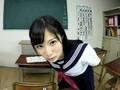 【VR】キスとヨダレと手コキ責め、おまけにフェラと乳首責め ver女子校生 栄川乃亜のサンプル画像3