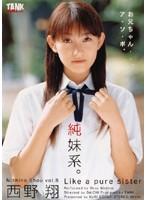 純妹系。 西野翔