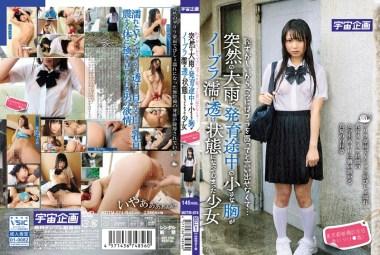 恥ずかしいから、ママにはブラを買ってと言い出せなくて…突然の大雨で発育途中の小さな胸がノーブラ濡れ透け状態になってしまった少女 東京都板橋区在住 あいり(1●歳)