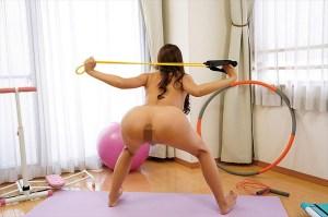魅力の体で全力運動!全裸フィットネス22人 のサンプル画像 1枚目