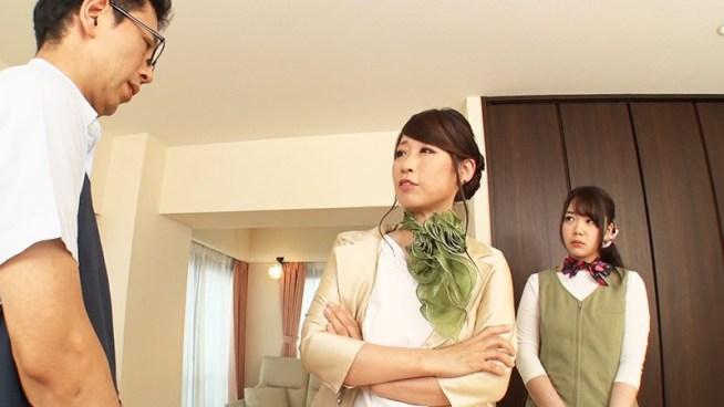 女上司にディープキス強要されながら可愛い部下に優しくフェラチオされ続ける。15