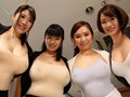 爆乳ノーブラ女子社員と中出し一夫多妻勤務のサンプル画像
