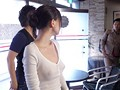 着衣おっぱいカフェ店員 鈴木心春のサンプル画像