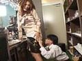夜のスリップ劇場 瑠依ママぶっかけ淫乱スリップのサンプル画像