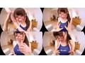 【VR】倉多まお 眼鏡×競泳水着×くびれボイン VR 優しい笑顔のGカップ美女と中出しSEX!のサンプル画像7