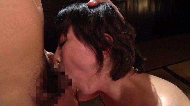 時代劇くノ一コスプレ熟女 円城ひとみ 二人の忍者と交わり編