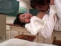 女教師の白い下着のサンプル画像