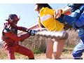 ヒロイン凌辱 Vol.48 闘鬼戦隊サンセイジャー 逆襲のセイジャーイエロー 大堀香奈のサンプル画像3