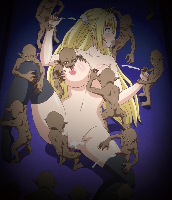 堕ちモノRPG 聖騎士ルヴィリアス 第二章 進撃の魔族 〜ルヴィリアスの輪●、イリスとリフリアの精液風呂〜2