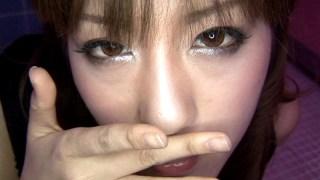 あ〜やらしい! 9 フェラ好き美女の瞳で悩殺! 秋月玲奈のサンプル画像10