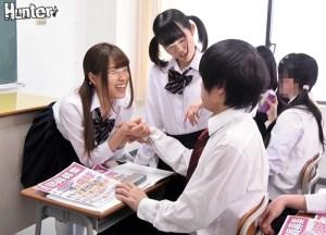 学校で全く人気のない廃部寸前の卓球部をなんとか存続させる為、5人の女子… のサンプル画像 1枚目