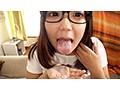 地味メガネなのにムッツリI-CUPの地方出身18才爆乳女子大生、女子寮でこっそりAV DEBUT!のサンプル画像4