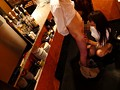 着衣おっぱいカフェ店員 大場ゆいのサンプル画像