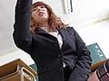 タイトスカート女教師のむっちり太もも誘惑絶対領域 波多野結衣のサンプル画像