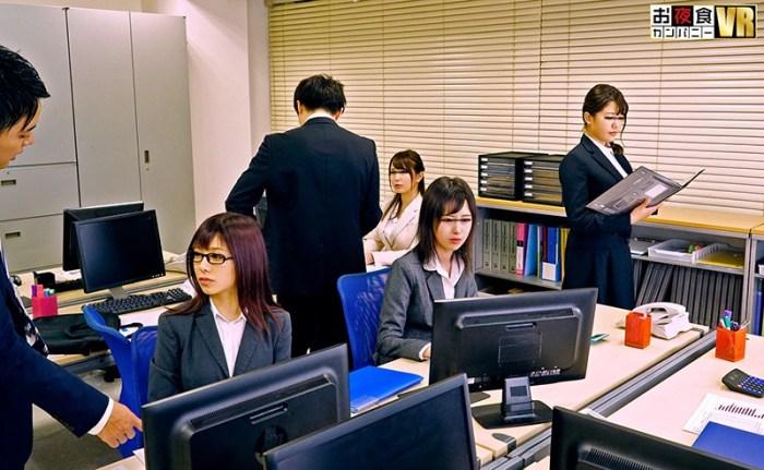 【VR】一見普通のオフィスですが、実はここにいる女性はそれぞれ「彼女… のサンプル画像 2枚目