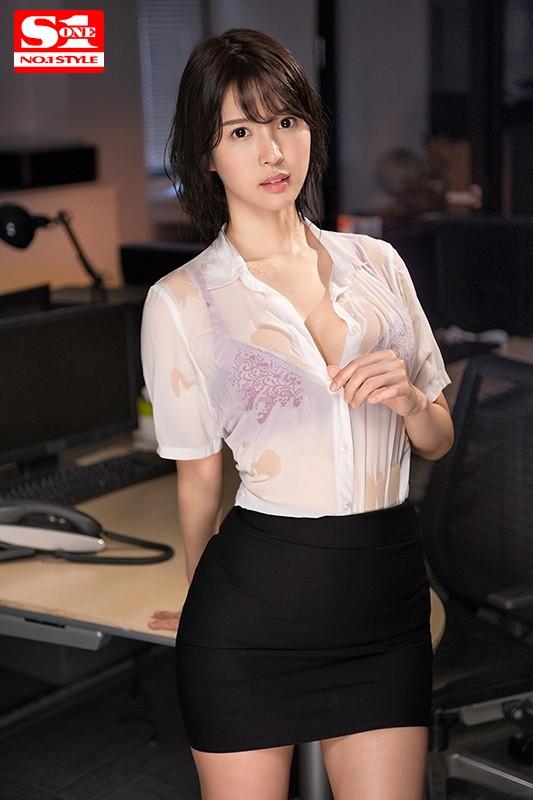 sivr00090jp 2 - 【VR】暴風雨で憧れの女上司と二人きり。僕たちはオフィスで狂ったようにSEXしまくった… 葵つかさ