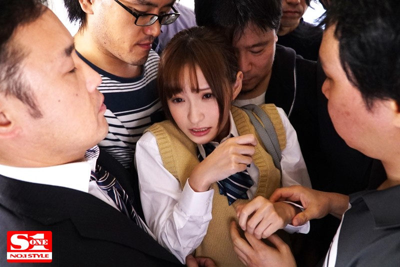 天使もえ 女子校生 強・制・連・結 満員痴漢車両サンプルイメージ5枚目