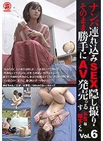 ナンパ連れ込みSEX隠し撮り・そのまま勝手にAV発売。するドSな年下くん Vol.6