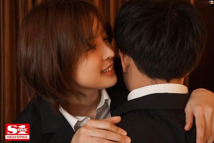 ssis00063jp 3 - 美人上司と童貞部下が出張先の相部屋ホテルで…いたずら誘惑を真に受けた部下が追撃射精の絶倫性交 葵つかさ