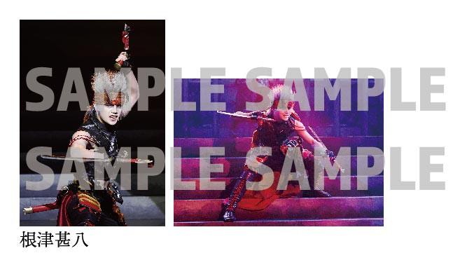 舞台『刀剣乱舞』无伝 夕紅の士-大坂夏の陣- 歴史上人物舞台写真ブロマイド(根津甚八)