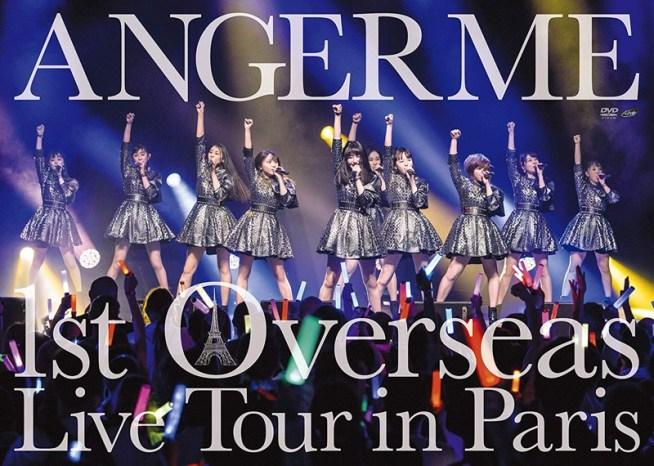 ANGERME 1st Overseas Live Tour in Paris