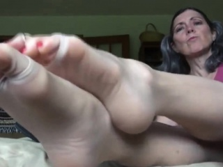 grandmas feet showing