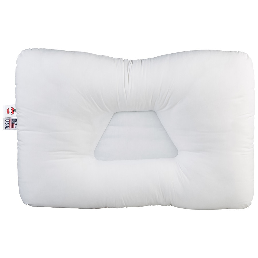 tri core cervical support pillow standard full size white