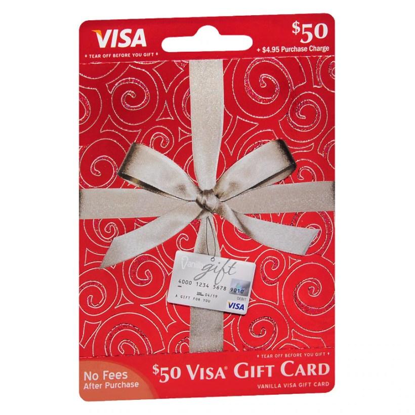 Vanilla Visa 100 Prepaid Gift Card Walgreens