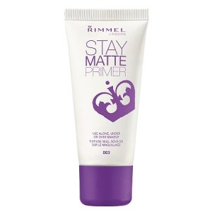 The perfect drugstore primer: Rimmel Stay Matte Primer!