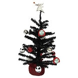 Disney Nightmare Before Christmas Decorated Tree
