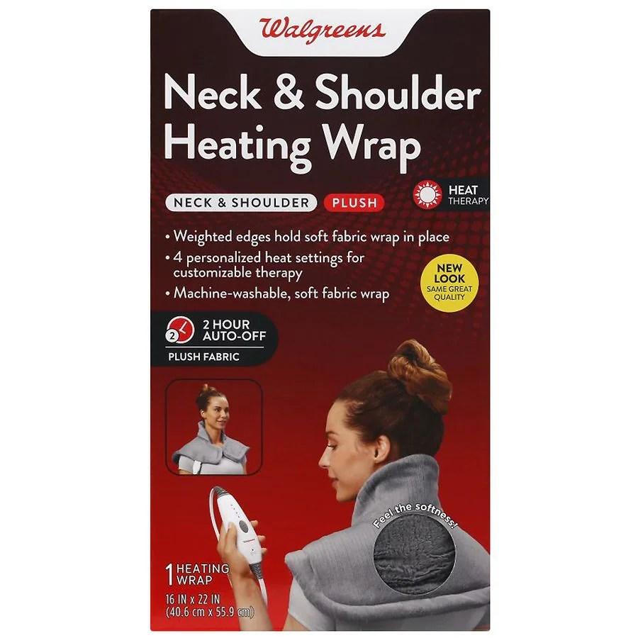 walgreens neck shoulder heat wrap
