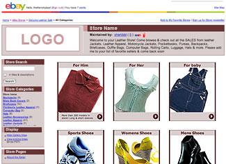 ebay stores design templates