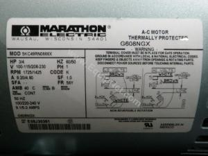 Marathon Electric Motor Wiring Diagram  impremedia