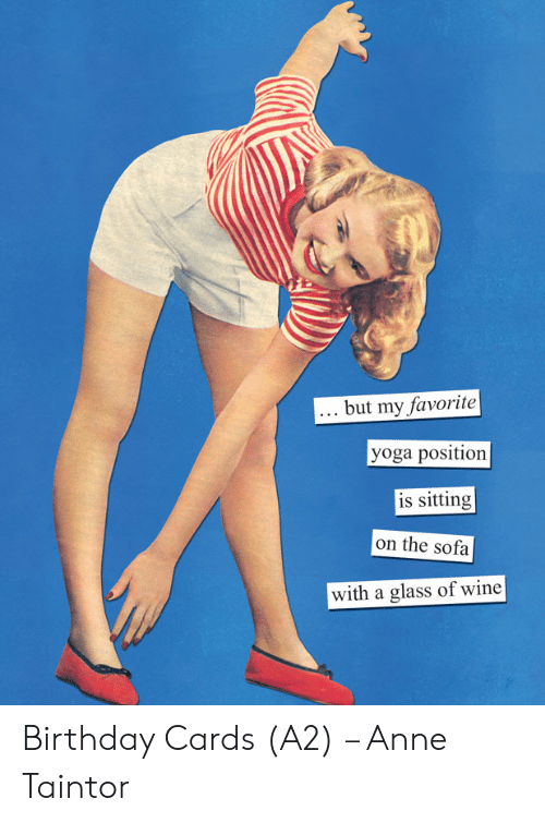 Anne Taintor Happy Birthday Greeting Card We Go Together Like