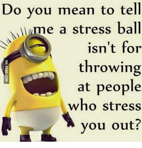 Do You Mean To Tell E A Stress Ball Isn T For Throwing At People