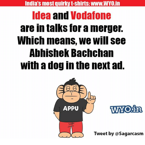 India S Most Quirky T Shirts Wwwwyo In Idea And Vodafone Are In